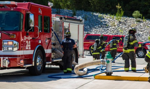 Nashville firefighters