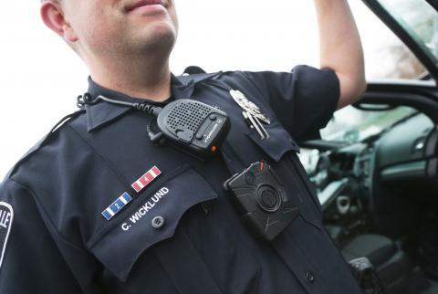 Police body camera bill takes steps to ease privacy