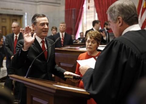 Casada is sworn in