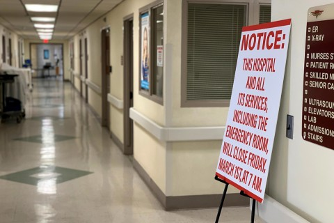 Rural hospital closings