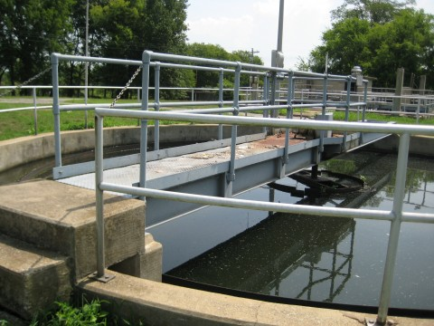 The city of Mt. Pleasant has received two grants from the U.S. Department of Agriculture's Rural Development program for long-anticipated repairs to the city's wastewater facility, seen here. The city has also borrowed $1.3 million to rehabilitate municipal infrastructure.