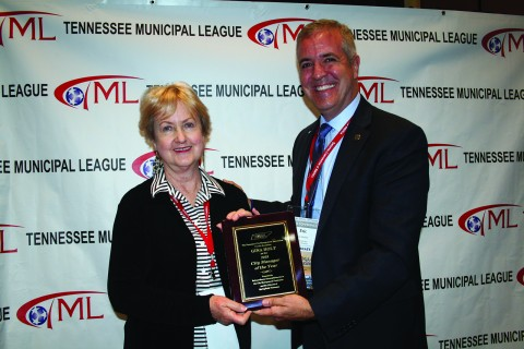 TCMA City Manager Award