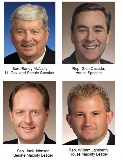Senate, House leadership candidates