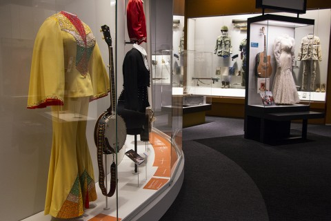 "Clothing ranging from outfits worn on ""The Grand Ole Opry"" to the uniforms of Tennessee soldiers in various conflicts to antebel"