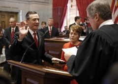 Casada is sworn in