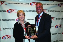 TCMA City Manager Award