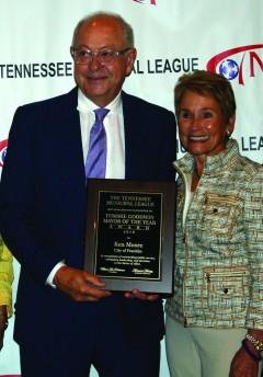 Mayor Ken Moore with Wife