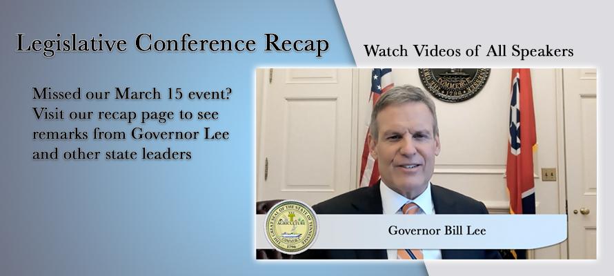 Legislative Conference Recap