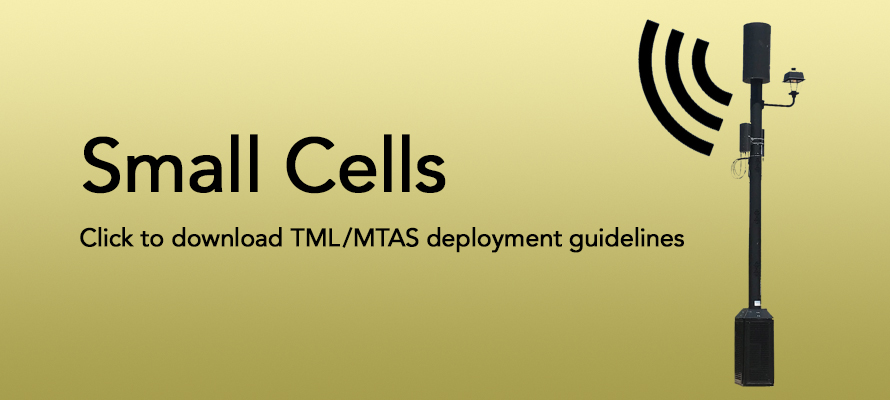 Small Cells - TML/MTAS Deployment Guidelines